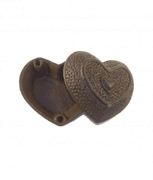 cache clef coeur